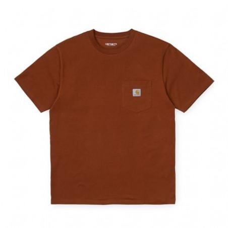 T-shirt CARHARTT WIP Pocket Brandy
