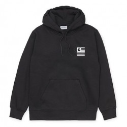 Sweat CARHARTT WIP Waving State Flag Black