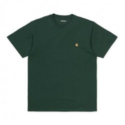 T-shirt CARHARTT WIP Chase Dark Teal Gold