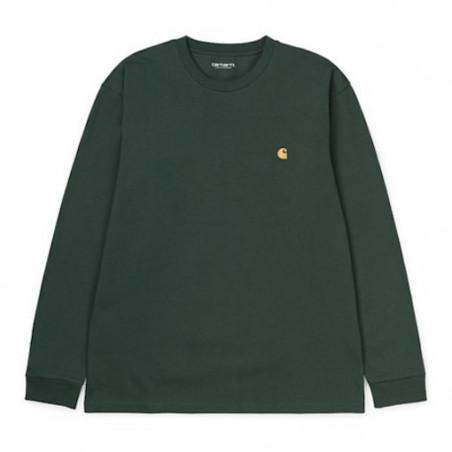 T-shirt CARHARTT WIP Chase Dark Teal Gold