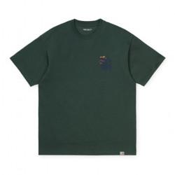 T-shirt CARHARTT WIP Society Dark Teal
