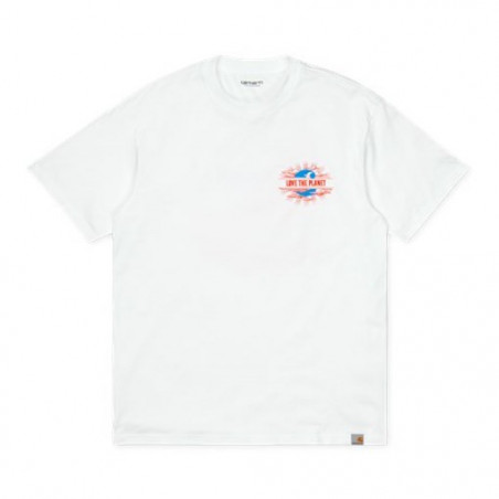 T-shirt CARHARTT WIP Love Planet White