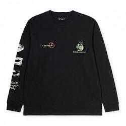 T-shirt CARHARTT WIP Race Play Black