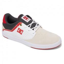 Chaussure DC Plaza White Grey Red