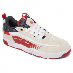 Chaussure DC Legacy 98 Slim SP White Grey Red