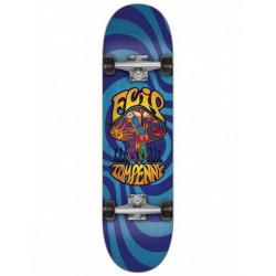 """Skateboard FLIP Penny Loveshroom Blue 8"""""""