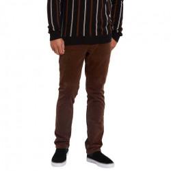 Pantalon VOLCOM Vorta 5 Pocket Vintage Brown