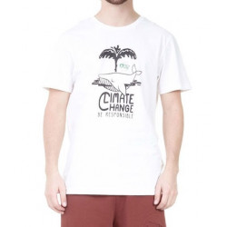 T-shirt PICTURE Whale White
