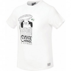 T-shirt Kid PICTURE Pandito White