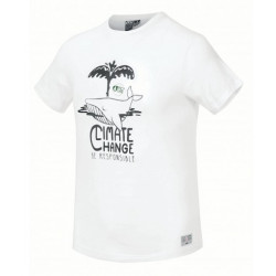 T-shirt Kid PICTURE Whaly White