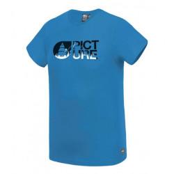 T-shirt Kid PICTURE Basement Blue