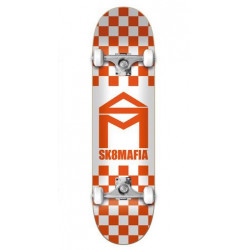 Skateboard SK8 MAFIA House Logo Checker...
