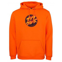 Sweat SANTA CRUZ Flaming Japanese Dot Fluo...