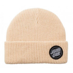 Bonnet SANTA CRUZ Outline Dot Bone
