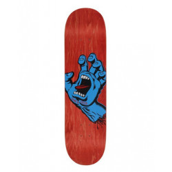Skateboard SANTA CRUZ Screaming Hand 8 Red