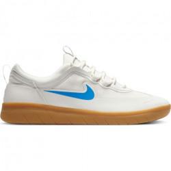Chaussure NIKE SB Nyjah Free 2 White Blue