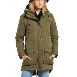 Veste Girl VOLCOM Walk On By Olive