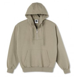 Sweat POLAR Half Zip Warm Grey