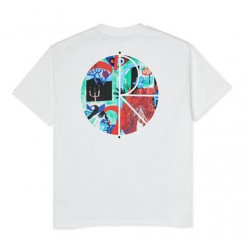 T-shirt POLAR Moth House Fill Logo White