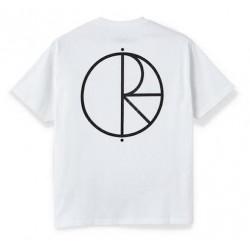 T-shirt POLAR Stroke Logo White