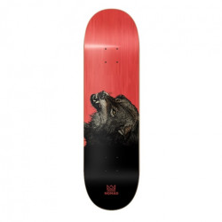Skateboard NOMAD The Wolf Red 8,25