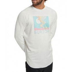 T-shirt First Layer BURTON Roadie Stout White