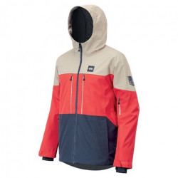 Veste Snow PICTURE Object Red Dark Blue