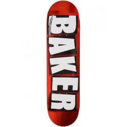 Skateboard BAKER Brand Logo Red Foil 8,25