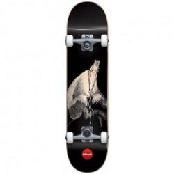 Skateboard ALMOST Secret Art Black 7,875