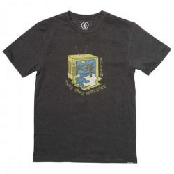T-shirt Kid VOLCOM Tune Into Black