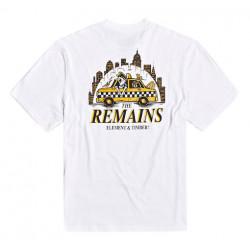 T-shirt Kid ELEMENT Taxi Driver White