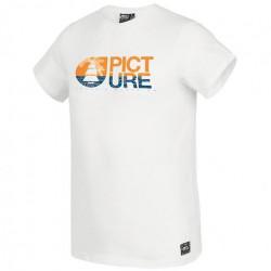 T-shirt PICTURE Basement Sea White