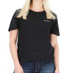 T-shirt Girl PICTURE Yva Black