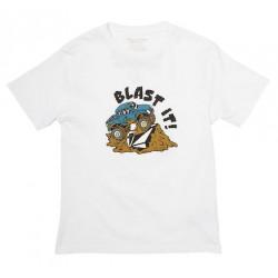 T-shirt Kid VOLCOM Blast It White