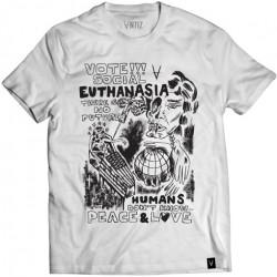 T-shirt ANTIZ Society White