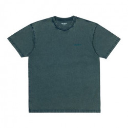 T-shirt CARHARTT WIP Mosby Script Deep Lagoon