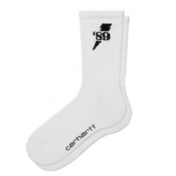 Chaussettes CARHARTT WIP Insignia White Black