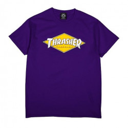 T-shirt THRASHER Diamond Logo Purple