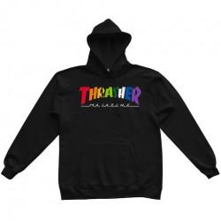 Sweat THRASHER Rainbow Mag Black