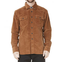 Surchemise PICTURE Graftons Corduroy Brown