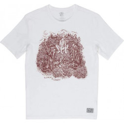 T-shirt ELEMENT Howl Off white