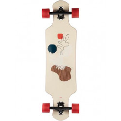 Longboard GLOBE Geminon 35 Walnut Cockatoo