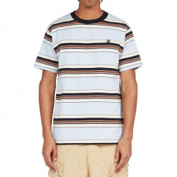 T-shirt DC Bully Stripe Skyway Stripe