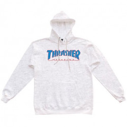 Sweat THRASHER Outlined Ash Gray