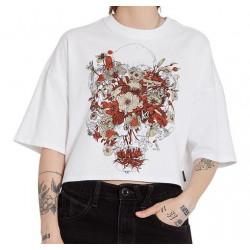 T-shirt Girl VOLCOM Fortifem White