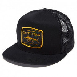 Casquette SALTY CREW Stealth Trucker Black