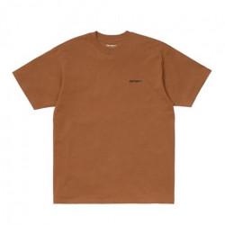 T-shirt CARHARTT WIP Script Embroidery Rum...