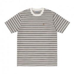 T-shirt CARHARTT WIP Akron Stripe Wax