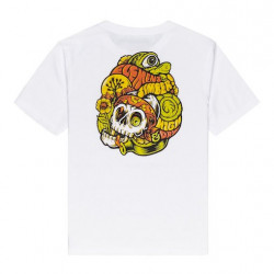 T-shirt Kid ELEMENT The Vision Optic White
