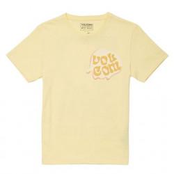 T-shirt Kid VOLCOM M.Loeffler Dawn Yellow